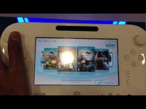 Wii U Best Buy Demo Station
