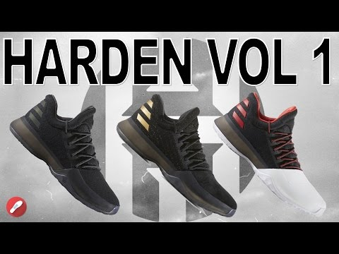 Different Material Comparison on Adidas Harden Vol. 1!