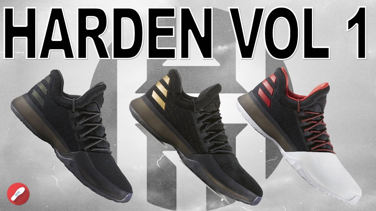 aa3cd77deed4 Different Material Comparison on Adidas Harden Vol. 1! - YouTube
