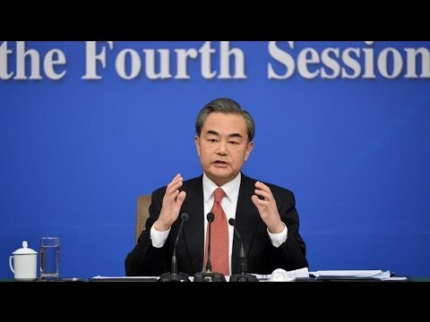 Chinese Foreign Minister Wang Yi gives press conference on foreign policy
