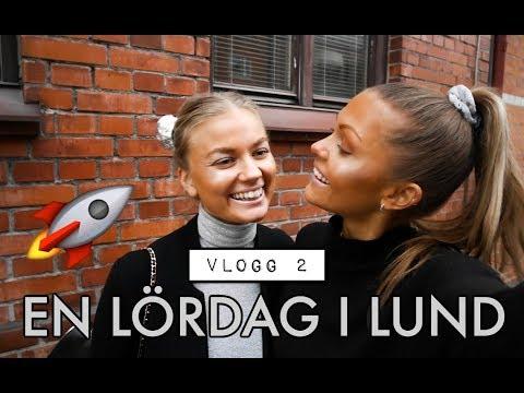 VLOGG 2 - Häng med en lördagskväll i Lund!