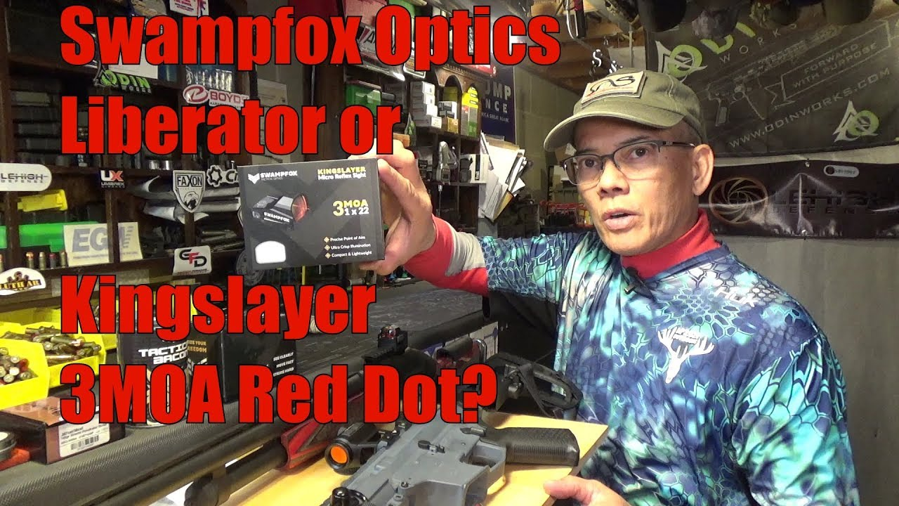Swampfox Optics Liberator or Kingslayer 3 MOA Red Dots Which One Is Right For You