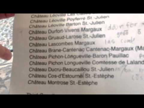 Pronunciation of Bordeaux Grands Crus 1855 classification