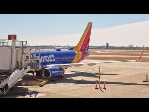 Landing at John Glenn Columbus International Airport (CMH) — Southwest Airlines WN430