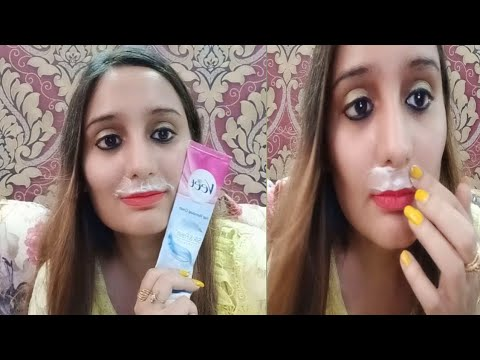 How I Remove My Upper Lips From Veet Cream Youtube