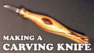 Making A Carving Knife