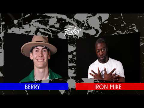 SNIPES FUNKIN STYLEZ 2018 - POPPING HALF FINAL - BERRY vs. IRON MIKE