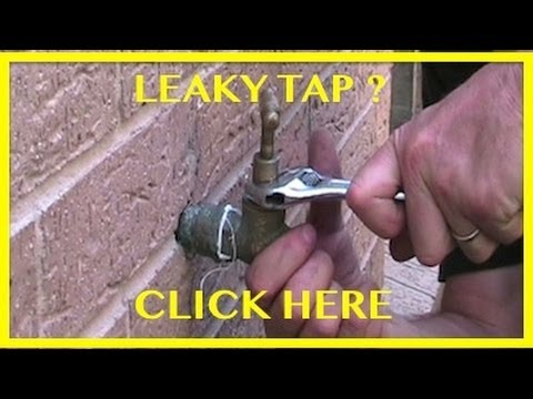 How To Change A Tap Washer Fix Dripping