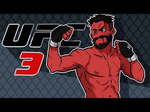URIAH HALL IS MY RIVAL NOW?! | EA UFC 3 (Middleweight Career) (EP3)