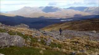 【アイルランド旅行】 ゴールウェイ州コネマラの山を歩く  (BGM=リサ・ハニガン) (Walking on Benbaun)