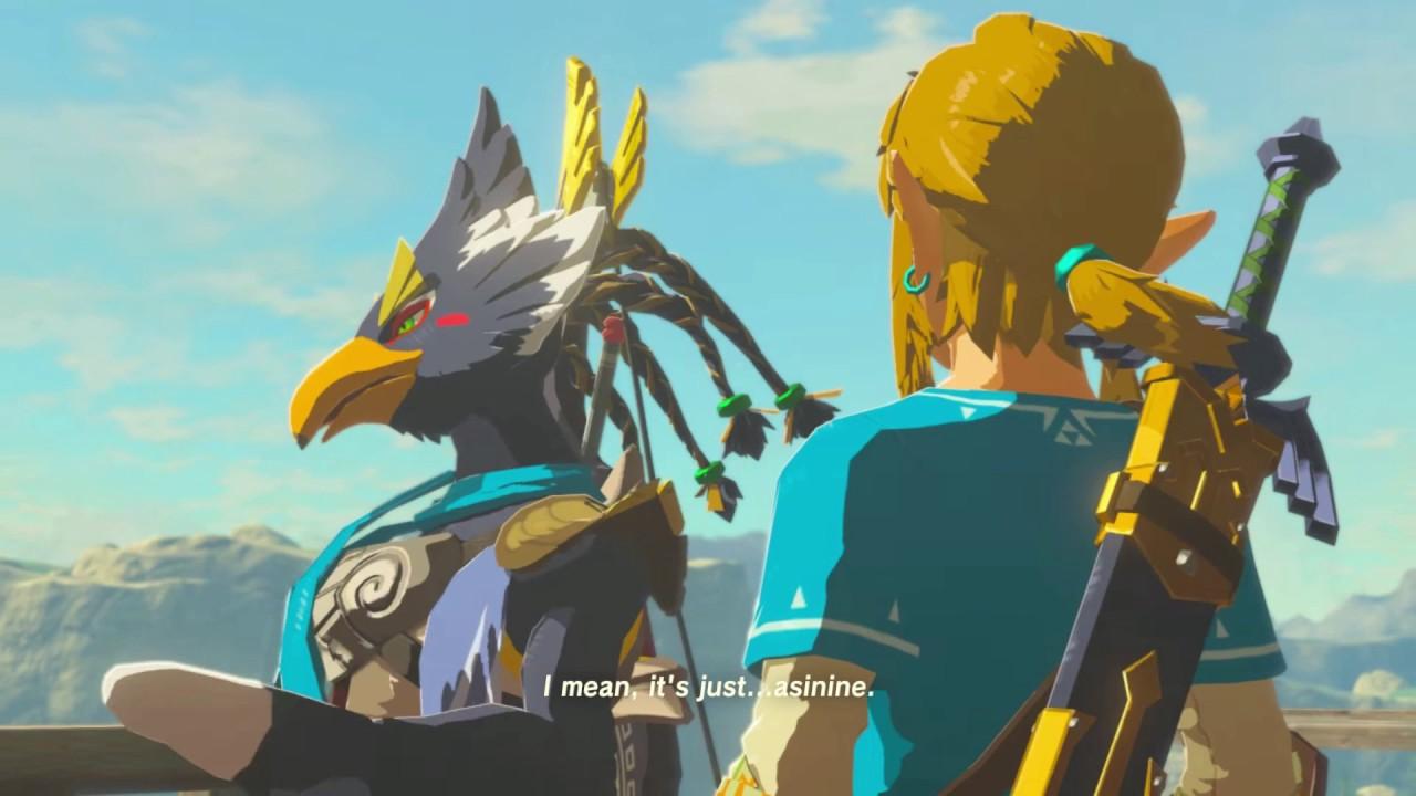 Zelda Botw Memory 2 Revails Flap Rito Village Youtube