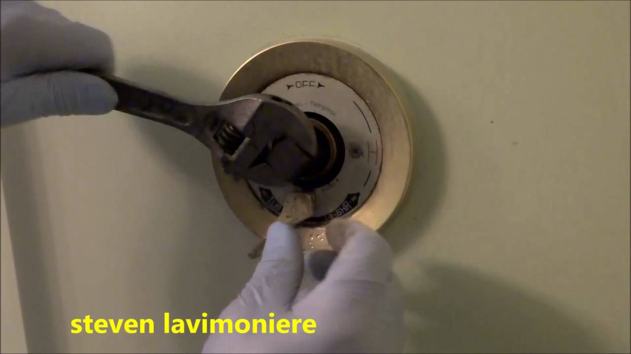 Bathroom Faucet Keeps Running water keeps running from tub / shower valve - youtube