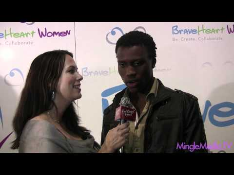 Amadou Ly at 2011 BraveHeart Women Awards Red Carpet Report