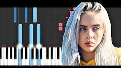 Billie Eilish - My Strange Addiction (Piano Tutorial)