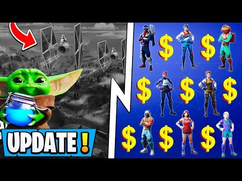 *NEW* Fortnite Update! | 30 000 Players Get A Prize, Star Wars Skins, Duos Details!