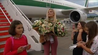 Bebe Rexha ne Tirane Video