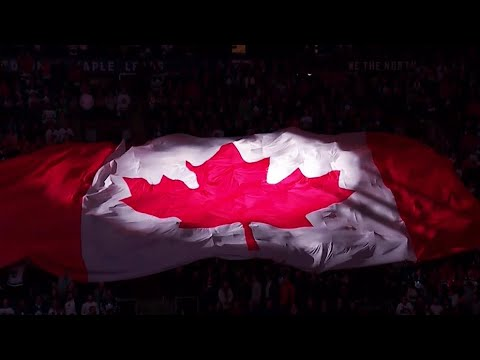 O Canada From Far And Wide Across NHL Arenas