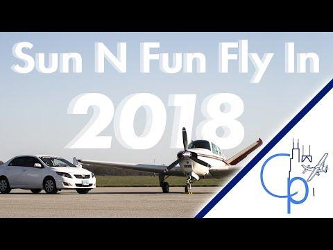 Flying Into Sun N Fun 2018! Flight Vlog
