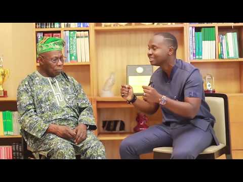 The King of Talk speaks with President Obasanjo (part 1)