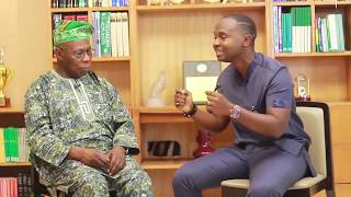 The King of Talk speaks with President Obasanjo part 1