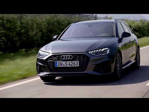 Audi S4 Avant TDI in Daytona Grey Driving Video