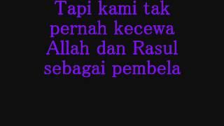 Rasulullah- Hijjaz (lirik)