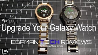 Upgrade You Samsung Galaxy Watch 2018 46 mm or 42 mm with These Ceramic Bands