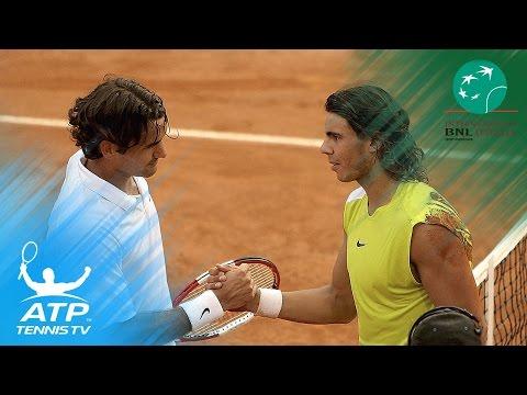 Nadal beats Federer in 2006 Rome epic | Internazionali BNL d'Italia Top Hot Shots & Highlights