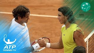 Nadal beats Federer in 2006 Rome epic | Internazionali BNL d'Italia Top Hot Shots & Highlights