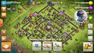 Clash Of Clans || Live Stream Trận War | Clan HuyenThoaiClans Vs Castillo Diablo
