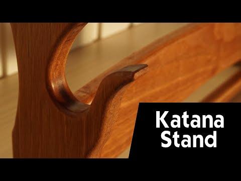How to make a DIY Katana Stand - Build your DIY Katana Holder