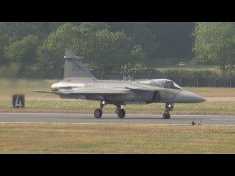 Saab JAS 39 Gripen Demonstration of maneuverability