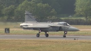 Saab JAS 39 Gripen Demonstration of maneuverability