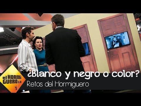 Paco León y Debi Mazar y su ojo clínico para el 'blanco y negro'  El Hormiguero 3.0