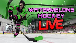 NHL 18 3V3 EASHL LIVE STREAM | WATERMELONS | BEST 3V3 CLUB!