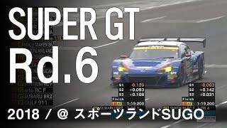 SUBARU BRZ GT300 2018 SUPER GT 第6戦 SUGO GT 300km RACE予選ダイジェスト