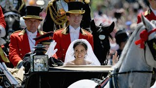 The Royal Wedding: The Duke and Duchess of Sussex depart for a Carriage Procession
