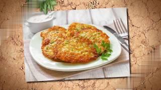 Готовим Драники с ветчиной, сыром и зеленью. Вкусный рецепт. Пробуем и наслаждаемся
