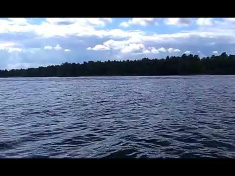 Приозерск. На лодке.