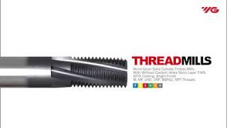 Thread Mill / YG-1 Cutting tools
