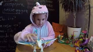 обзор дракона с Динозавром. LEGO Elves Спасение Королевы Драконов (41179) ЛЕГО Эльфы
