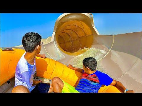 Bowl Water Slide Ride at Wild Wadi Waterpark Dubai