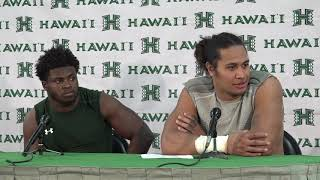 Hawaii Football Post Game Players Press Conference vs. San Jose State 10-14-17