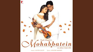 Gambar cover Mohabbatein Love Themes - Instrumental