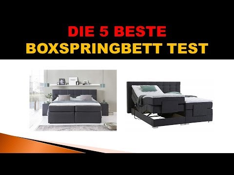 Bestes Boxspringbett Test