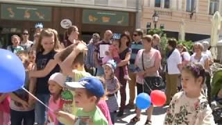 Mesebirodalommá változott Székesfehérvár belvárosa