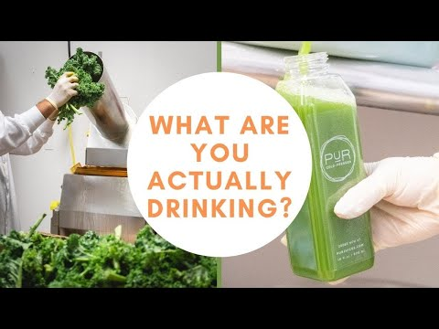 What REALLY goes into Cold Pressed Juices ?  PUR Cold Pressed Juicery Juice Cleanse