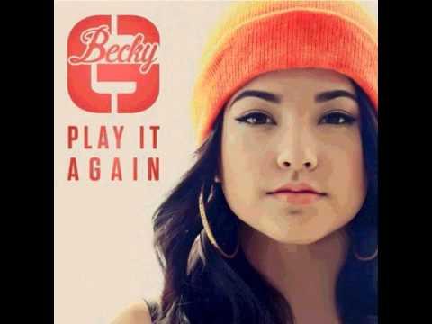 Becky G Play it again Audio