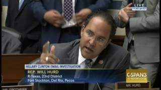 Rep. Hurd Destroys Dem Partisanship at Comey Hearing