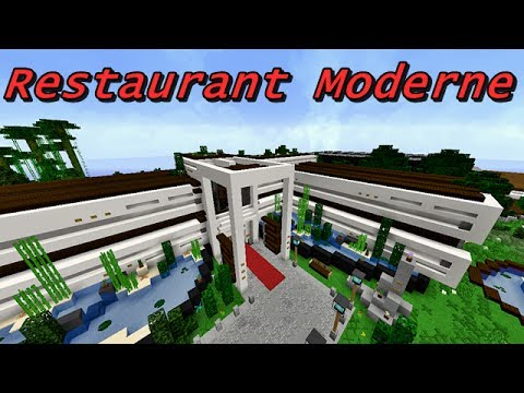 Minecraft restaurant ultra moderne par blinkdestroy for Cuisine ultra moderne minecraft